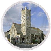 Shanklin United Reformed Church Round Beach Towel