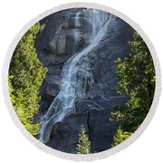 Shannon Falls_mg_--5504 Round Beach Towel