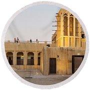 Sheikh Saeed House And Museum Round Beach Towel
