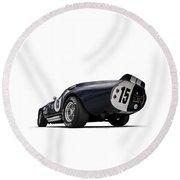Shelby Daytona Round Beach Towel by Douglas Pittman