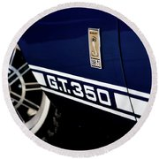 Shelby Mustang G T 350 Cobra Round Beach Towel