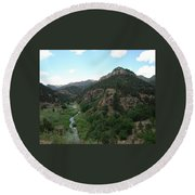 Shelf Road Vista Round Beach Towel
