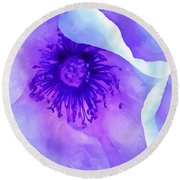 Sheltered Round Beach Towel