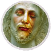 Shesus Round Beach Towel
