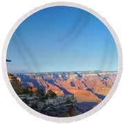 Shifting Perspectives Round Beach Towel