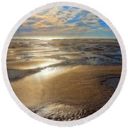 Shimmering Sands Round Beach Towel