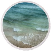 Shimmering Tide Round Beach Towel