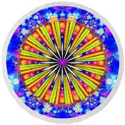 Shine And Sparkle Round Beach Towel
