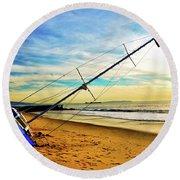 Shipwreck Series #1 Round Beach Towel