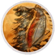 Shivers Of Delight - Tile Round Beach Towel