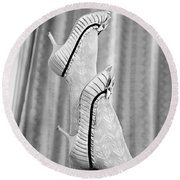 Shoes #6088 Round Beach Towel