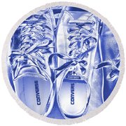 Shoes Round Beach Towel