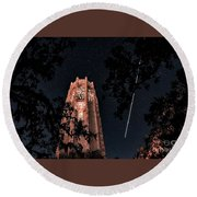 Shooting Star Round Beach Towel