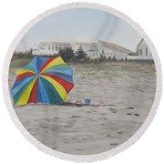 Shore Dreams Round Beach Towel