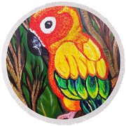 Shorty Round Beach Towel