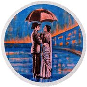 Shree 420 Round Beach Towel