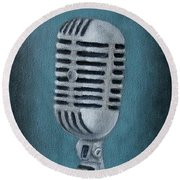 Shure Thing Round Beach Towel