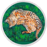 Siesta Round Beach Towel