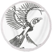 Sigma Eagle Round Beach Towel