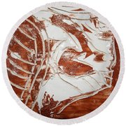 Sign - Tile Round Beach Towel