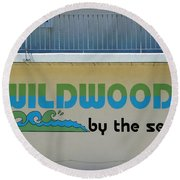Signs And Sayings - 5 Round Beach Towel
