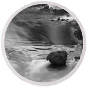 Sigoldufoss Waterfalls Iceland 1315 Round Beach Towel