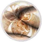 Silk Round Beach Towel
