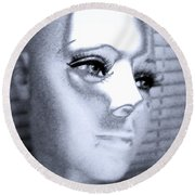 Silver Queen Round Beach Towel