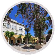 Silves In Spring Round Beach Towel