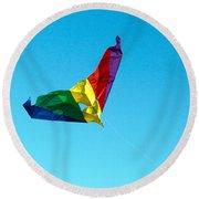Simple Kite Round Beach Towel