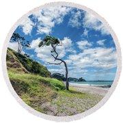 Simply New Zealand Round Beach Towel