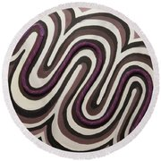 Cosine Round Beach Towel