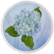 Sing Me The Blues Round Beach Towel