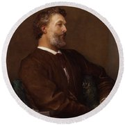 Sir Frederick Leighton By George Round Beach Towel