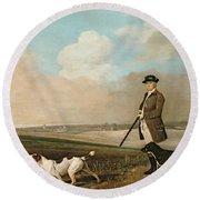 Sir John Nelthorpe Round Beach Towel