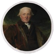 Sir Thomas Lawrence Round Beach Towel