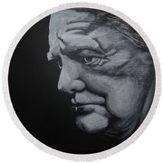 Sir Winstone Churchill Round Beach Towel