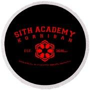 Sith Academy Round Beach Towel