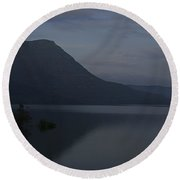 Skc 3955 A Tranquil Lakeside Round Beach Towel