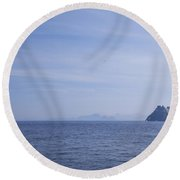 Skellig Michael, County Kerry, Ireland Round Beach Towel