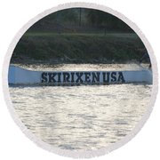 Skirixen Usa Round Beach Towel