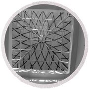 Sky Light Round Beach Towel