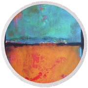 Sky Sky Round Beach Towel