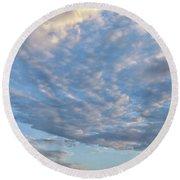 Sky Variation 43 Round Beach Towel