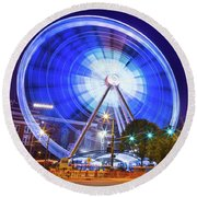Skyview Atlanta Round Beach Towel