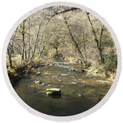 Sleepy Creek Round Beach Towel