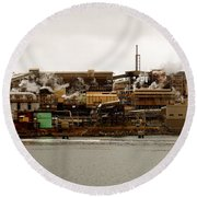 Smelter Works Round Beach Towel