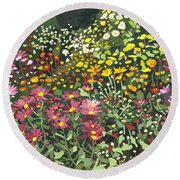Smith Mums Round Beach Towel