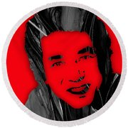 Smokey Robinson Collection Round Beach Towel