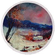 Snow 569020 Round Beach Towel